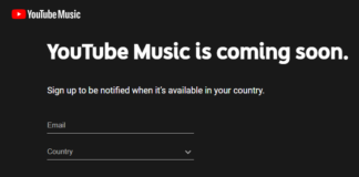 YouTube Music in India