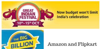 Amazon and Flipkart Festive Season Sale 2018